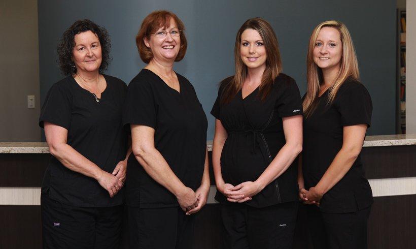 Hygienists - Cindy, Diane, Monica, Briane
